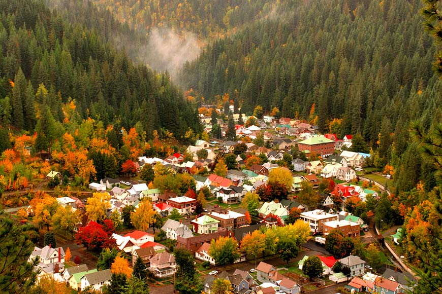 Wallace, Idaho (Estados Unidos)